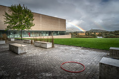 Storm Ali - 19 Sep 2018 - 104 (ibriphotos) Tags: stormali rainbow wallacemonument forthvalleycollege doublerainbow stirling riverforth weather storm tree