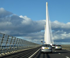 Crossing the Queensferry Crossing (chdphd) Tags: queensferrycrossing queensferry crossing bridge riverforth river forth