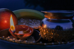 ॐ (komal.exe) Tags: hindu sikh temple culture india indian flower diwa krishna milk shiva shivji religion god goddess statue baby cute kid girl fountain water macro closeup grain
