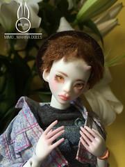 Mimo_Marina Doll (Mimo_Marina) Tags: kpop korean koreanstyle koreanboy koreanfashion k momoko mask bjd bjdboy boy bjddoll boxoppening artbjd doll handmade handmadedoll artdoll 16doll resindoll cuteboy cat clothers rabbit