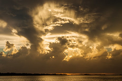 Ft DeSoto Sunset 9-25-2018 (dbadair) Tags: sunset gulf cloud outdoor seaside shore sea sky water nature wildlife 7dm2 ocean canon florida