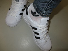 Adidas (adifan) Tags: adidas superstar originals socks jeans wet