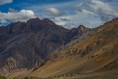 Mighty Mountains of Spiti (ashwin647) Tags: sonya6000 india himachal himachalpradesh spiti spitivalley landscape travel himalayas tibet indianpictures sonyalpha mountains sony55210 losar tabo