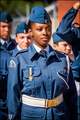 Air Cadet On Parade (Rodrick Dale) Tags: air cadet on parade portrait canadian st catherines ontario canada