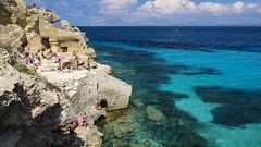Bue Marino - Favignana - Italy (I. Bellomo) Tags: sea mare foto favignana isole egadi island landscape fujifilm palermo sicily italy