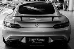 Mercedes-Benz (Jontsu) Tags: mercedes benz car germany deutschland munchen munich nikon d7200 35mm black white bw