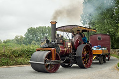 Drusillas to GDSF Road Run (Ben Matthews1992) Tags: 2018 drusillas inn road run great dorset steam fair gdsf britain england classic old vintage historic preserved preservation traction engine burrell roller 3991 daffodil af9803