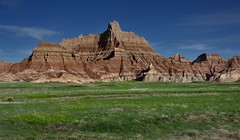 A Sunny Day and Blue Skies the Next Day (Badlands National Park)