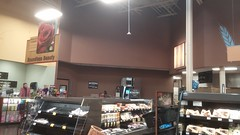 Café becomes ClickList (Retail Retell) Tags: kroger grocery store olive branch ms desoto county retail expansion remodel 2012 decor little clinic pickup clicklist staging area cafe seating