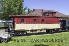 DRGW 1100 Series (Freight Car Resource) Tags: denverriograndewestern denverriogrande haskelbarker woodcaboose caboose freightcar railroad railway train