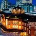 Tokyo Station Marunouchi station building on Twilight : 黄昏時の東京駅丸の内駅舎