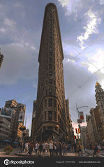 Flatiron Building in NYC (mmullally0) Tags: 5thavenue america american apartment architecture broadway building city cityscape downtown estate fifth flat flatiron fuller high historic historical landmark lower manhattan midtown newyork ny nyc old oldest skyline street symbol top tower triangle united urban us usa view flatironbuilding bigapple