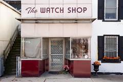 The Watch Shop (jrobfoto.com) Tags: backroads twitter decay street fullframe m wilmington leicam raw smalltownillinois 240 tumblr 500px thewatchshop voigtlandernokton50mmf12 illinois leica unitedstates us
