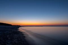 Leuchtturm (dadudawien) Tags: leuchtturm sonnenuntergang ostsee strand farben himmel