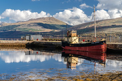Vital Spark (liamtatts84) Tags: boat ship marina dock harbour sailing sea loch water blue green autumn inveraray scotland scottish highlands