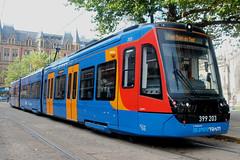 Stagecoach Supertram: 203 Class 399: 399203 Cathedral (emdjt42) Tags: class399 399203 203 tram sheffield stagecoachsupertram
