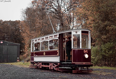 Hull 96 (WT_fan06) Tags: hull 96 heaton park tramway museum heritage oldtimer vintage historic history manchester photography composition nikon d3400 dslr red yellow october autumn moody flickr 7dwf coth5