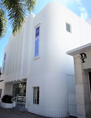 Art deco art gallery 9761 (Tangled Bank) Tags: downtown lake worth florida town city urban street commercial building structure old classic vintage art deco gallery 9761 theatre theater shop