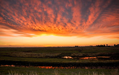 Sunrise in Normandy (Valdy71) Tags: sunrise normandy normandie france francia alba color sky travel landscape