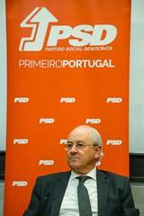 Rui Rio com militantes de Coimbra