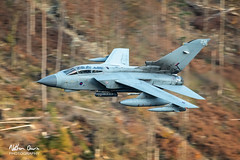 RAF Tornado GR4 ZA543 low level at Thirlmere (NDSD) Tags: low level panavia tornado gr4 thirlmere cumbria flying jet raf lake district plane aviation aircraft