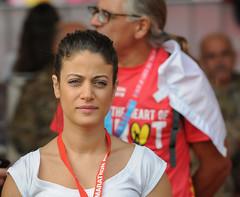 Beirut Marathon (Paul Saad) Tags: woman women beirut lebanon blombankbeirutmarathon portrait nikon faces marathon