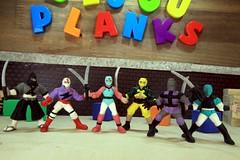 SAKI - Bijou Planks 264/365 (MayorPaprika) Tags: mini figs figure paprihaven pvc miniature smallscale figurine diorama toy story scene custom bricks plastic vinyl theater bijouplanks canoneos50d gashapon gachapon japan