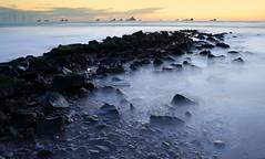 Power (PeskyMesky) Tags: aberdeen aberdeenbeach longexposure rocks water sea ocean canon canon6d leefilter littlestopper sunrise sunset