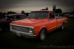 Orange Is The New (HTT) (13skies (broke my wrist)) Tags: chevrolet truckthursday pickuptruck orange dodging lightroom truck htt cool classic old older carshow nice sweet happytruckthursday canon canont3i
