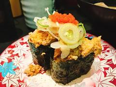 #元祖壽司 #壽司 #東京 #日本 #tokyo #japan (Mg Lin) Tags: 元祖壽司 壽司 生魚 日本 東京 tokyo japan