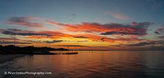 Rye Bay Beach (Peter.Stokes) Tags: sunset sea australia nature light colour evening