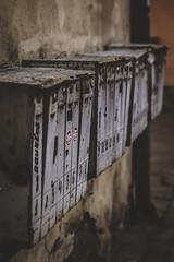 IMG_1636 (lauragali8) Tags: box boxes street house old mailbox