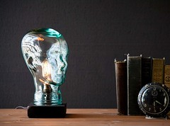Classy Glass Head Table Lamp (mywowstuff) Tags: gifts gift ideas gadgets geeky products men women family home office