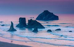 room355bandon1015-22-7 (Ranbo (Randy Baumhover)) Tags: oregon oregoncoast pacificocean sunset bandon