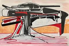 Jim Harris: Electromagnetic Time Pulse Portal Enabler. (Jim Harris: Artist.) Tags: art arte artist paper drawing dessin zen zeitgenössische technology technik