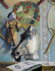 Paul Gauguin - Still Life with Horse's Head, 1886 at Bridgestone Museum of Art Tokyo Japan (mbell1975) Tags: tokyo tokyoprefecture japan jp paul gauguin still life with horses head 1886 bridgestone museum art museo musée musee muzeum museu musum müze museet finearts gallery gallerie beauxarts beaux galleria painting impression impressionist impressionism french expression expressionist expressionism