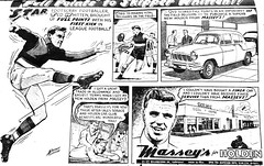 Full points to Skipper Whitten (Raoul's Photos) Tags: advertising holden 1959 tedwhitten footscray bulldogs normanclifford