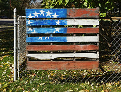 Pallet Patriotism - 2 (Thompson Photography) Tags: pallet american patriotism newport minnesota mn october 2018 102118