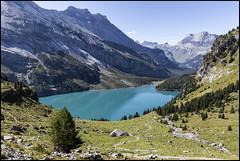 _SG_2018_09_0028_IMG_0051 (_SG_) Tags: schweiz suisse switzerland daytrip tour wandern hike hiking kandersteg lake oeschinen oeschinensee upper station heuberg panorama unterbärgli oberbärgli nature aussicht view unesco world heritage trail mountain berge loop