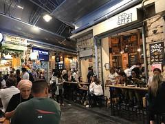 foodstalls (=Mirjam=) Tags: iphone jerusalem restaurant market foodstalls dinnertime citytrip travels september 2018