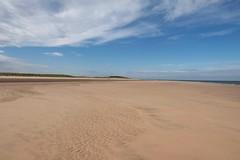 beach at Holme Next the Sea (onlygwuk) Tags: beach sea dunes sky blue vista coast panorama england norfolk sand cloud space empty tranquility peaceful deserted