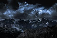 Glacier (François Leroy) Tags: françoisleroy france hautesalpes briancon montagne glacier glace nuage nuit obscur rocher