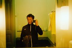 (dramatolog) Tags: igorripak wwwigorripakcom igorripakphotography dramatolog sarenikaravan šarenikaravan diaries pointandshoot yashicat4 t4 carlzeisstessart carlzeisstessar kodak kodakgold budapest filmisnotdead film selfy mirror