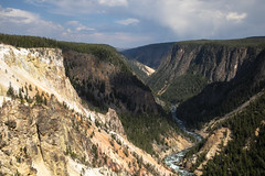 Inspiration Point - View Through Grand Canyon of the Yellowstone (Bill in DC) Tags: wy wyoming yellowstone yellowstonenationalpark 2018 grandcanyonoftheyellowstone