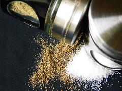 Salt and Pepper (shercredeur) Tags: macromondays perfectmatch saltpepper hmm macro macrodreams