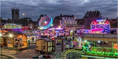 The Fair comes to town .......... (Alan Burkwood) Tags: retford nottinghamshire funfair