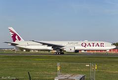 Qatar Airways 777-300(ER) A7-BAI (birrlad) Tags: frankfurt fra main international airport germany aircraft aviation airplane airplanes airline airliner airlines airways taxi taxiway takeoff departing departure runway boeing b777 b773 777 777300er 7773dzer a7bai qatar qatari