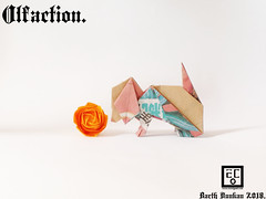 Olfaction. (Magic Fingaz) Tags: anjing barthdunkan chien chó dog hond hund köpek origami paperfolding perro pies пас пес собака หมา 개 犬 狗
