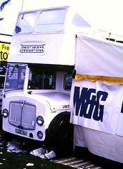 Slide 122-69 (Steve Guess) Tags: epsom downs surrey england gb uk bus open top topper topless ipswich aec regent v timothy ashton hospitality dpv67d
