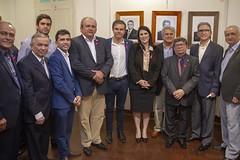 Presidente Marcelo Queiroz participa de posse da nova diretoria da Associação Comercial do RN